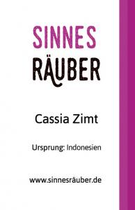 Cassia Zimt